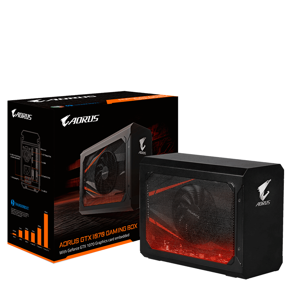 AORUS GTX 1070 Gaming Box