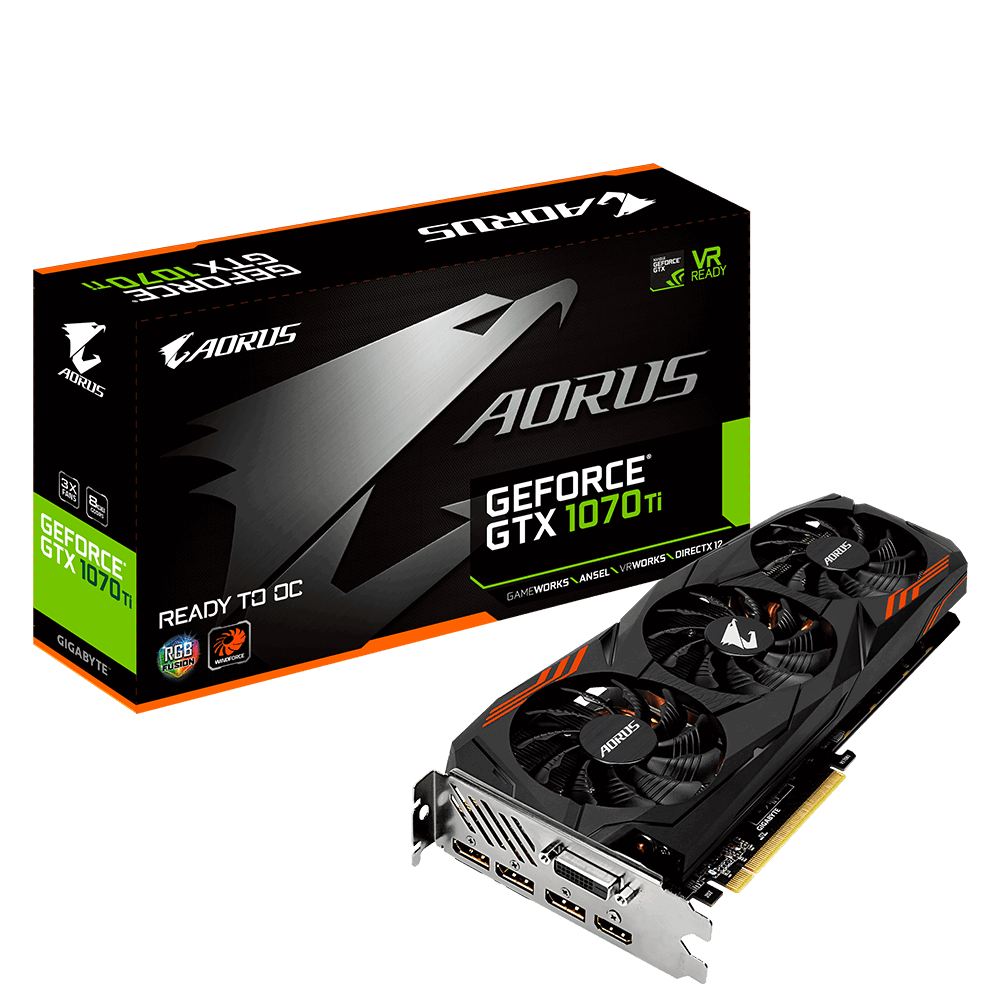 AORUS GeForce® GTX 1070Ti 8G