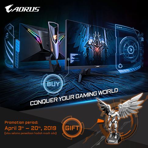 Conquer Your Gaming World with AORUS AD27QD Monitor