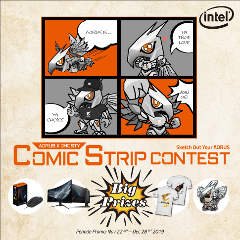 AORUS x GHOSTY Comic Strip Contest